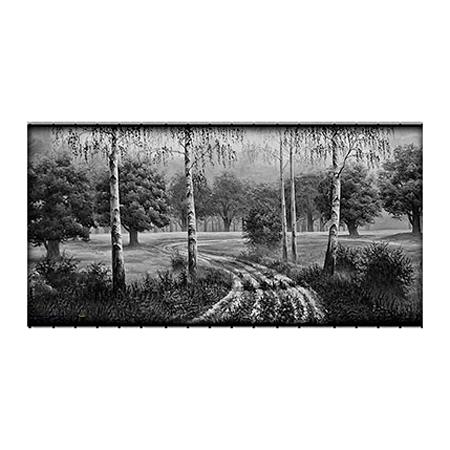 Пейзаж на обратной стороне памятника 20