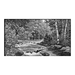 Пейзаж на обратной стороне памятника 28