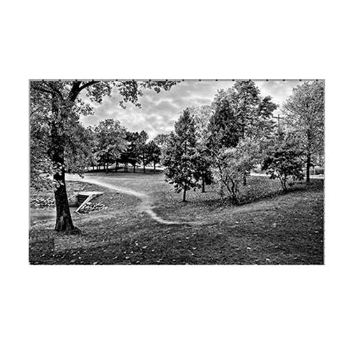 Пейзаж на обратной стороне памятника 7