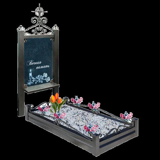 Памятник из метала 02